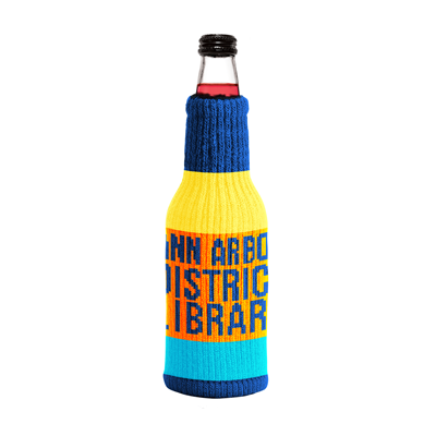 Cover image for AADL Bottle Sock