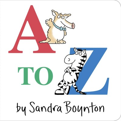 Cover image for A to Z by Sandra Boynton