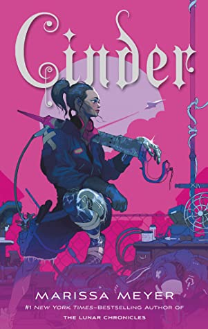 Cover image for Cinder by Marissa Meyer