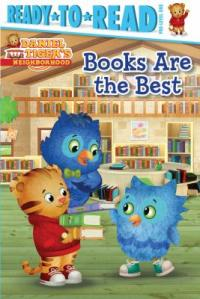 Cover image for Daniel Tiger's Neighborhood: Books are the Best by Maggie Testa