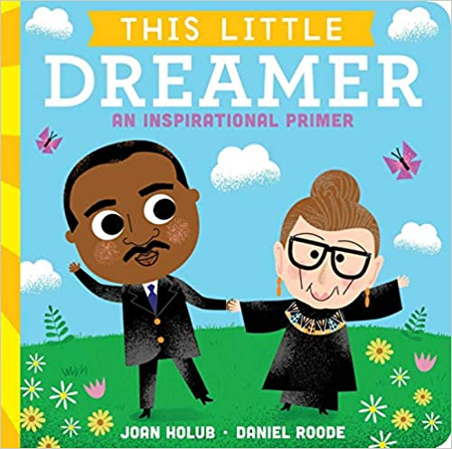Cover image for This Little Dreamer: An Inspirational Primer by Joan Holub