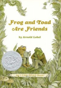Cover image for Frog and Toad are Friends by Arnold Lobel