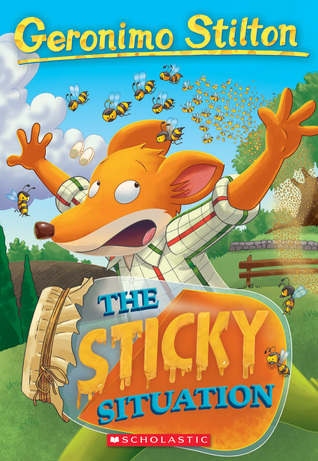 Cover image for The Sticky Situation by Geronimo Stilton