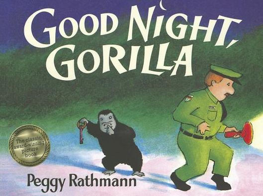 Cover image for Goodnight Gorilla by Peggy Rathmann