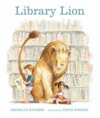 Cover image for Library Lion by Michelle Knudsen