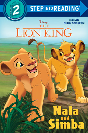 Cover image for The Lion King: Nala and Simba by Mary Tillworth