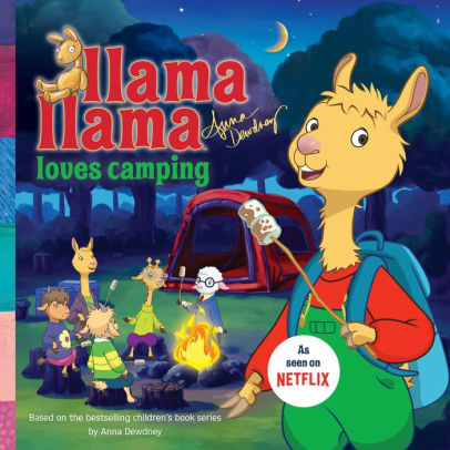 Cover image for Llama Llama Loves Camping by Anna Dewdney