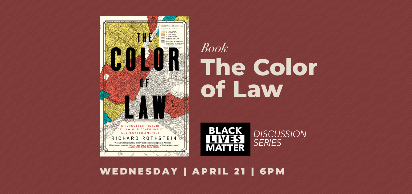 The Color of Law (4/21). .