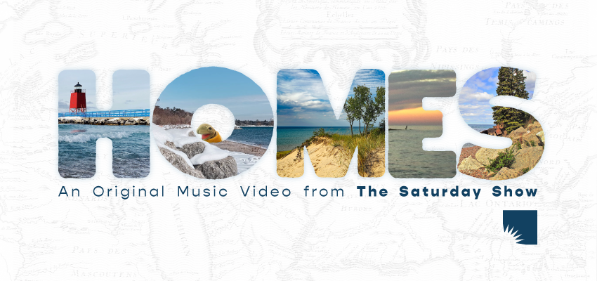 "Music Video Premiere: ""HOMES! (Huron, Ontario, Michigan, Erie, Superior)"". ."