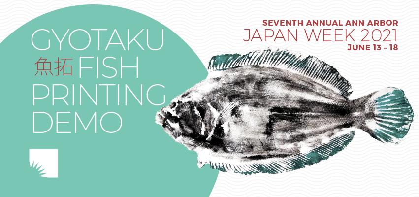Gyotaku Fish Printing Demo. .