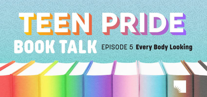 Teen Pride Book Talk. .