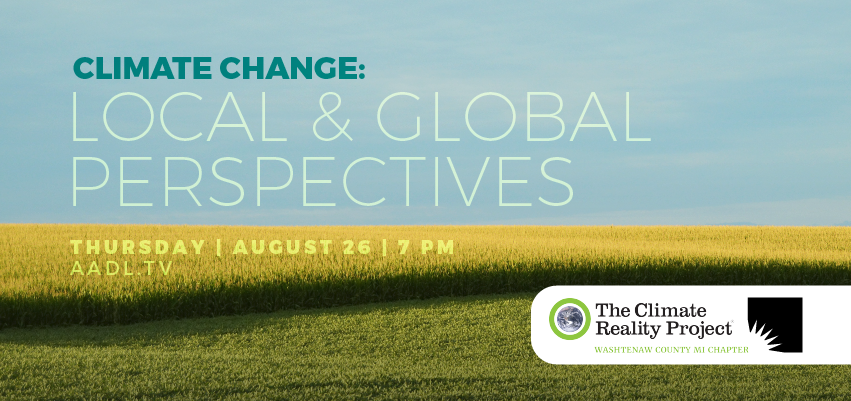 Climate Change: Local and Global Perspectives. .
