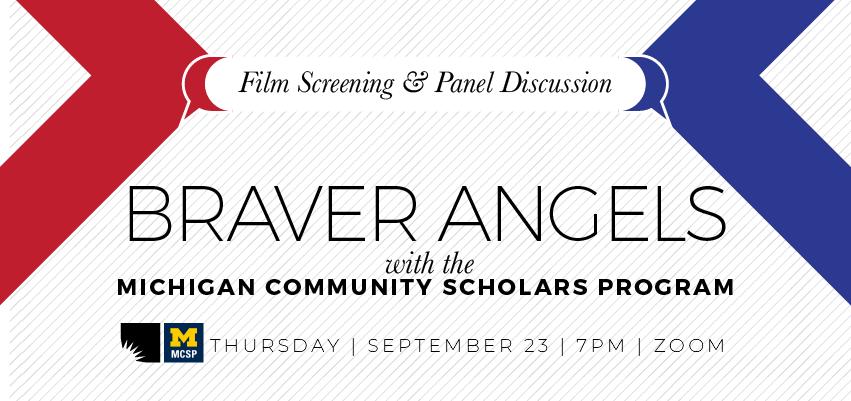 Braver Angels (9/23). .