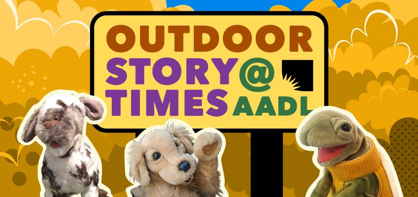 Outdoor Storytimes: October. .