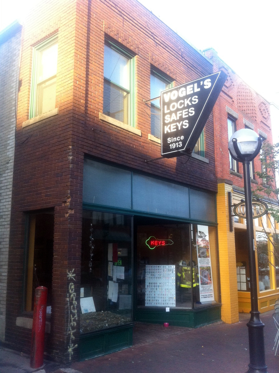 Promotional image for AADL Talks To Heritage Business Owner David Vogel of Vogel's Lock & Safe podcast