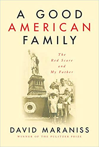 Promotional image for Martin Bandyke Under Covers for August 2019: Martin talks to David Maraniss about A Good American Family: The Red Scare and My Father. podcast