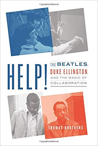 Promotional image for Martin Bandyke Under Covers for March 2019: Martin Bandyke interviews Thomas Brothers, author of Help: The Beatles, Duke Ellington, and the Magic of Collaboration. podcast