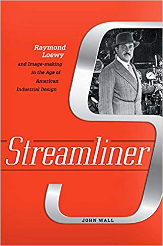 Promotional image for Martin Bandyke Under Covers for July 2019: Martin interviews John Wall, author of Streamliner: Raymond Loewy and Image-making in the Age of American Industrial Design. podcast
