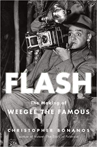Promotional image for Martin Bandyke Under Covers for December 2018: Martin Bandyke interviews Christopher Bonanos, author of Flash: The Making of Weegee the Famous. podcast
