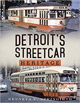 Promotional image for Martin Bandyke Under Covers for May 2019: Martin Bandyke interviews Kenneth C. Springirth, author of Detroit's Streetcar Heritage podcast