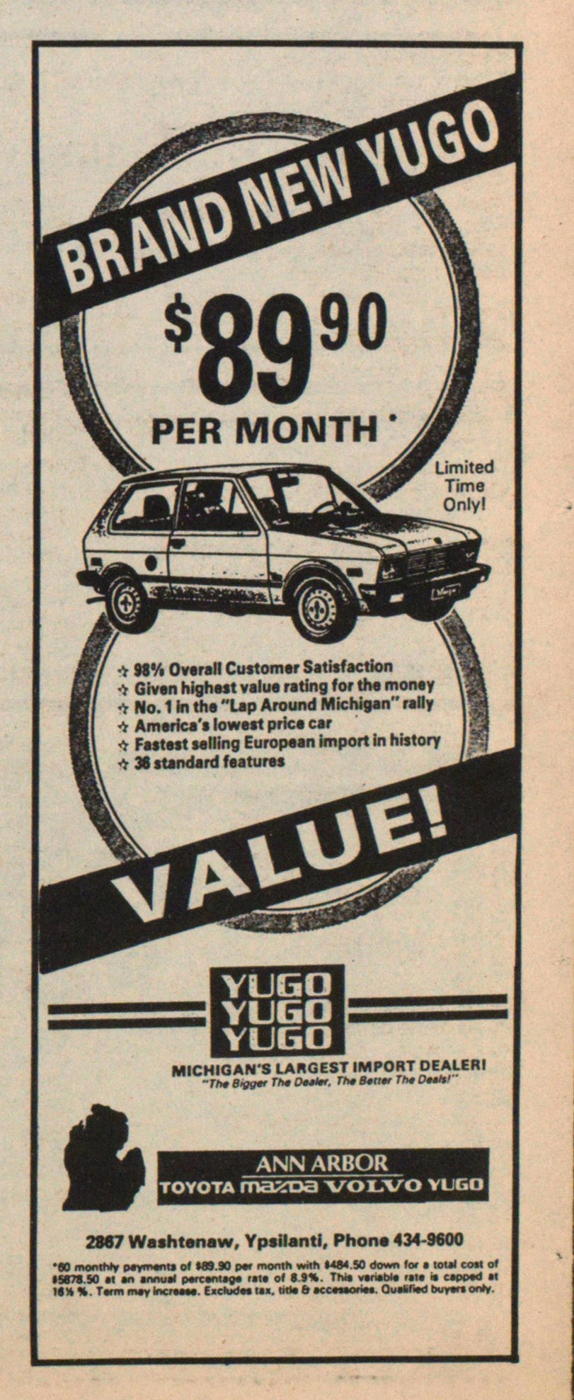 Ann Arbor Toyota Mazda Volvo Yugo Image
