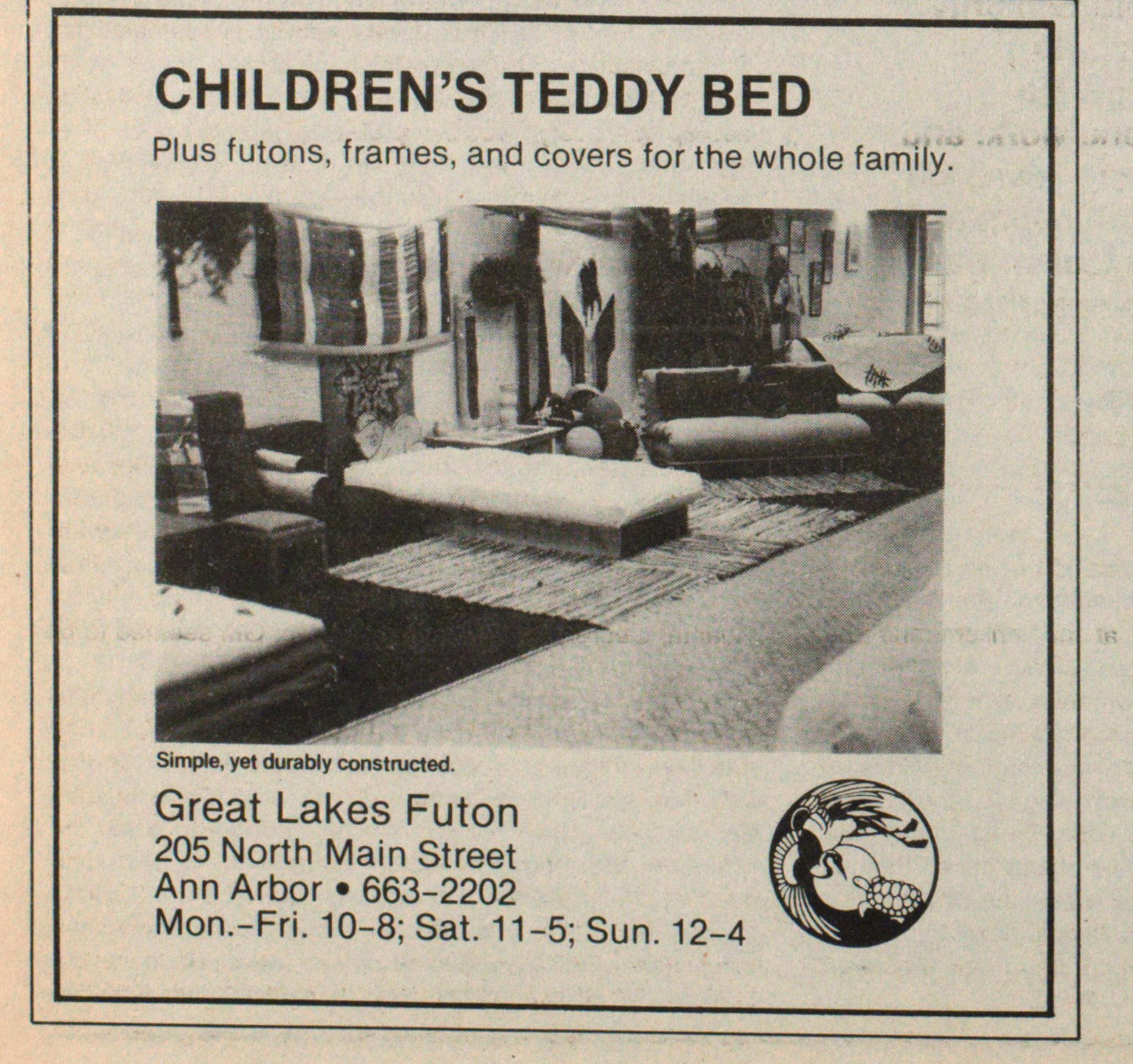 Children's Teddy Bed image