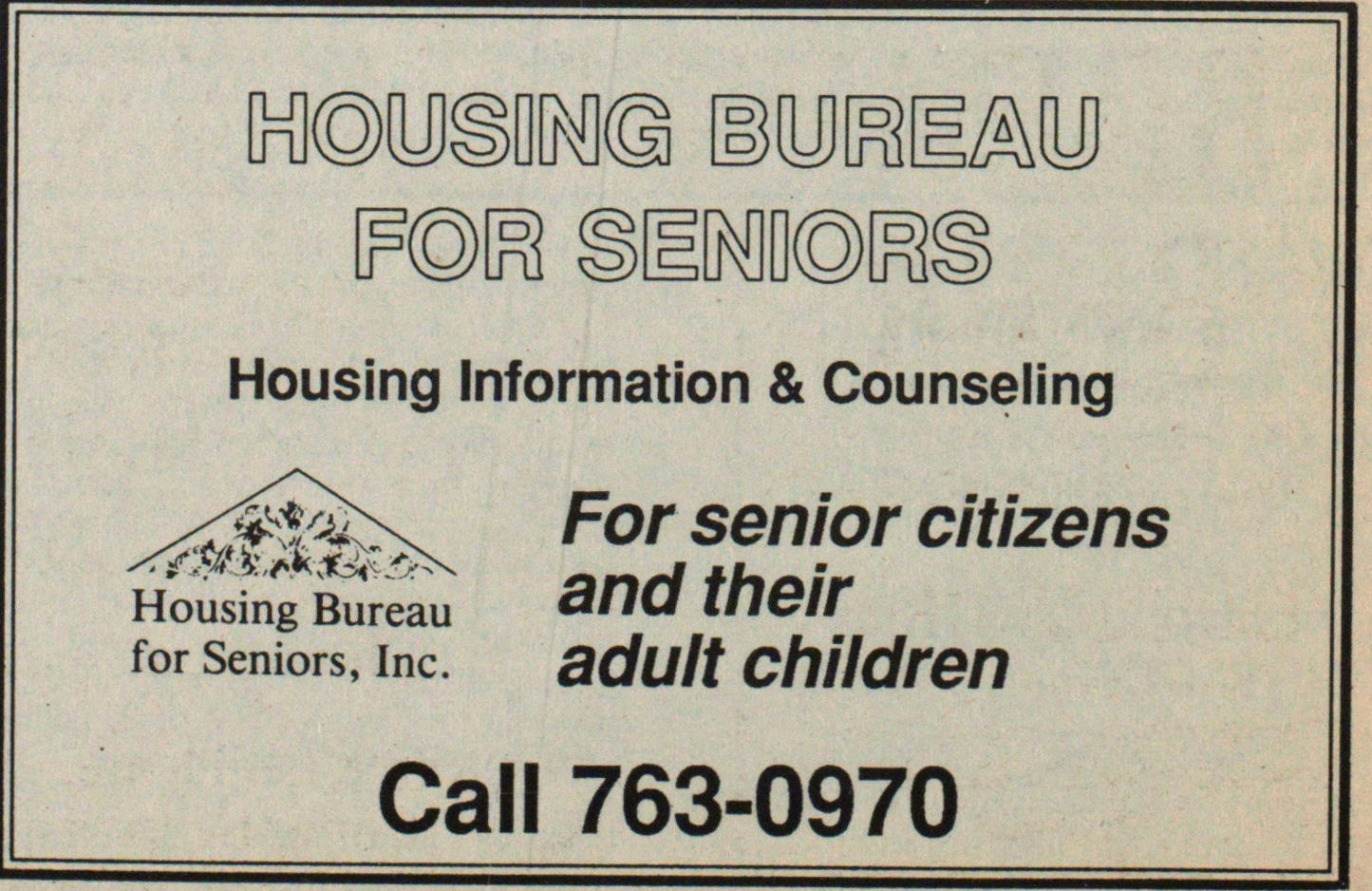 Housing Information & Counseling For sen... image
