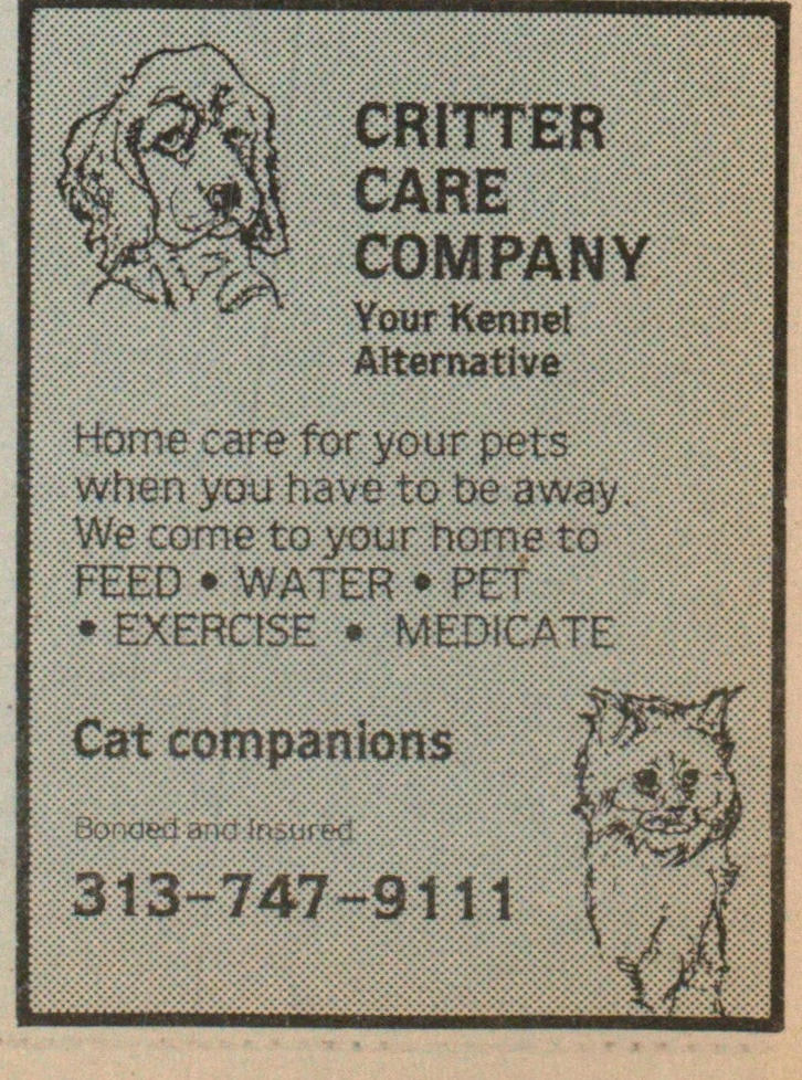 Critter Care Company image