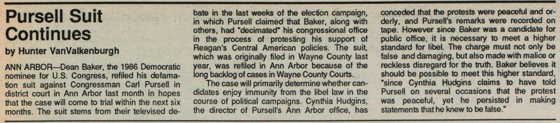 Pursell Suit Continues image