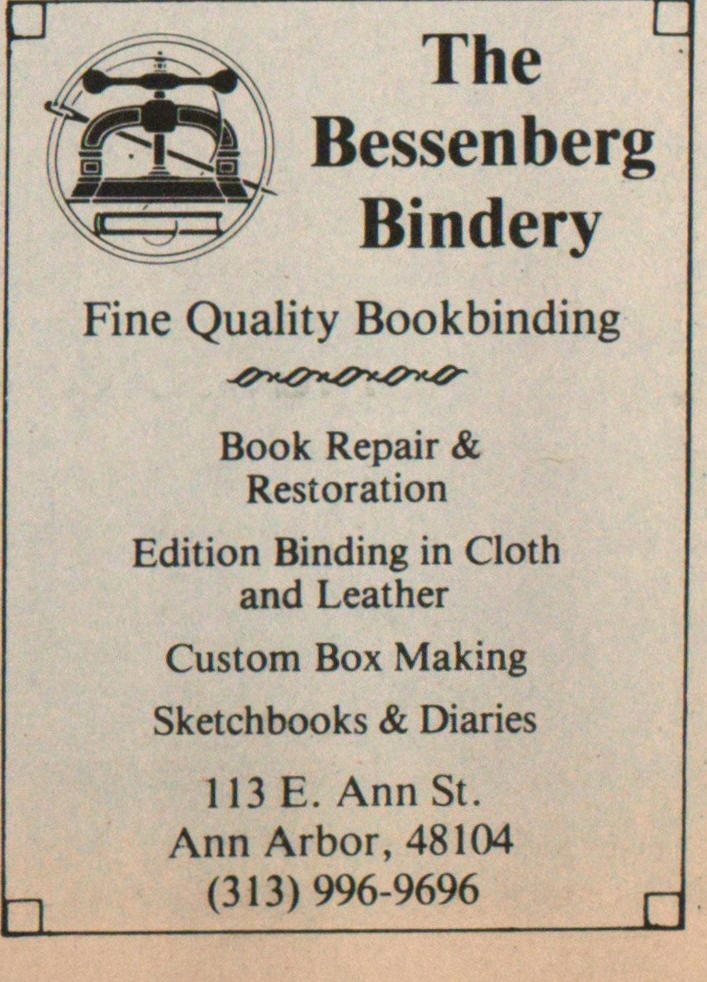 Fine Quality Bookbinding image