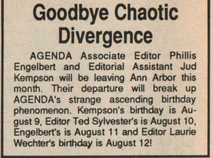 Goodbye Chaotic Divergence image