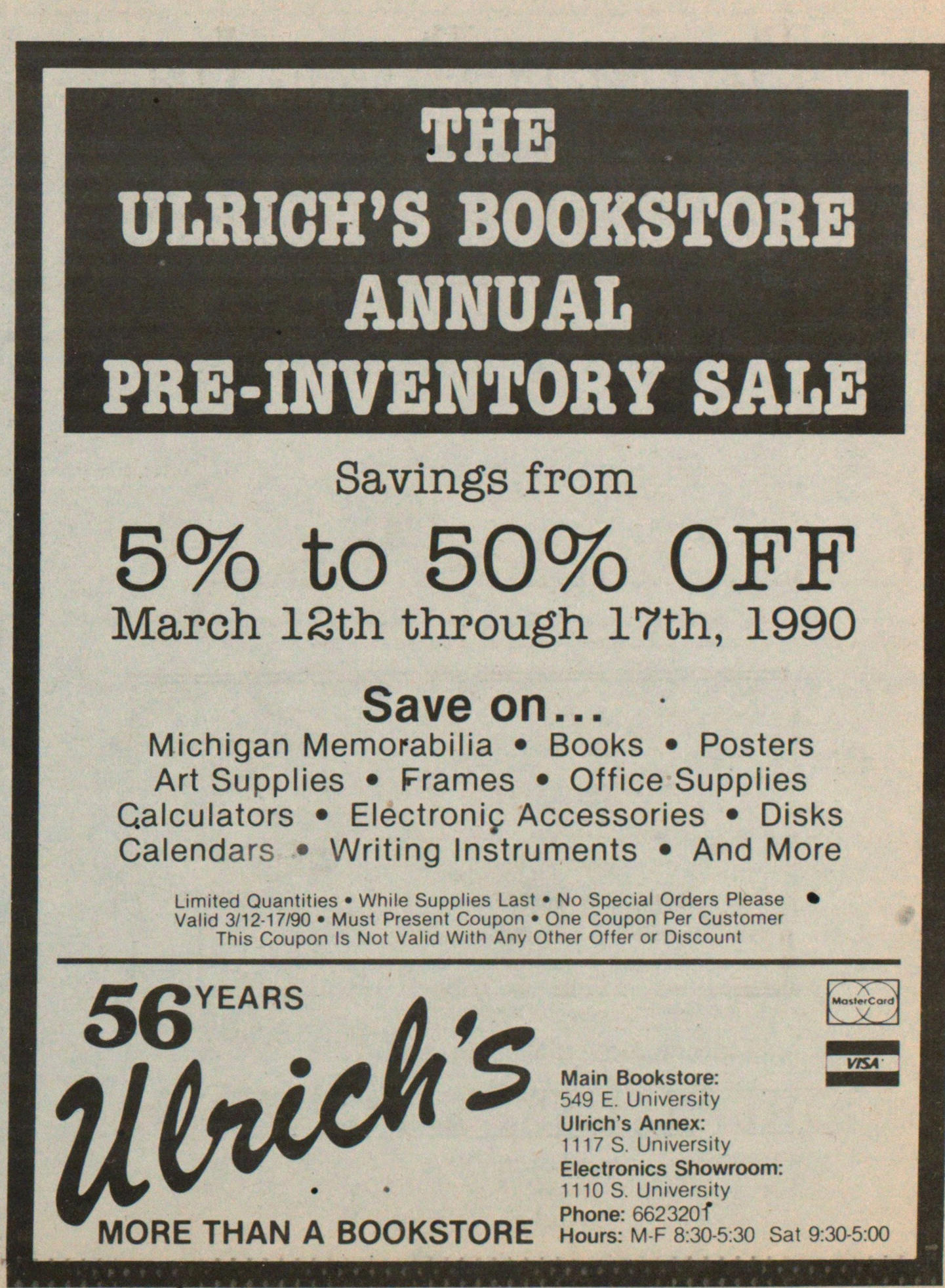 56 Years Ulrich's More Than A Bookstore image