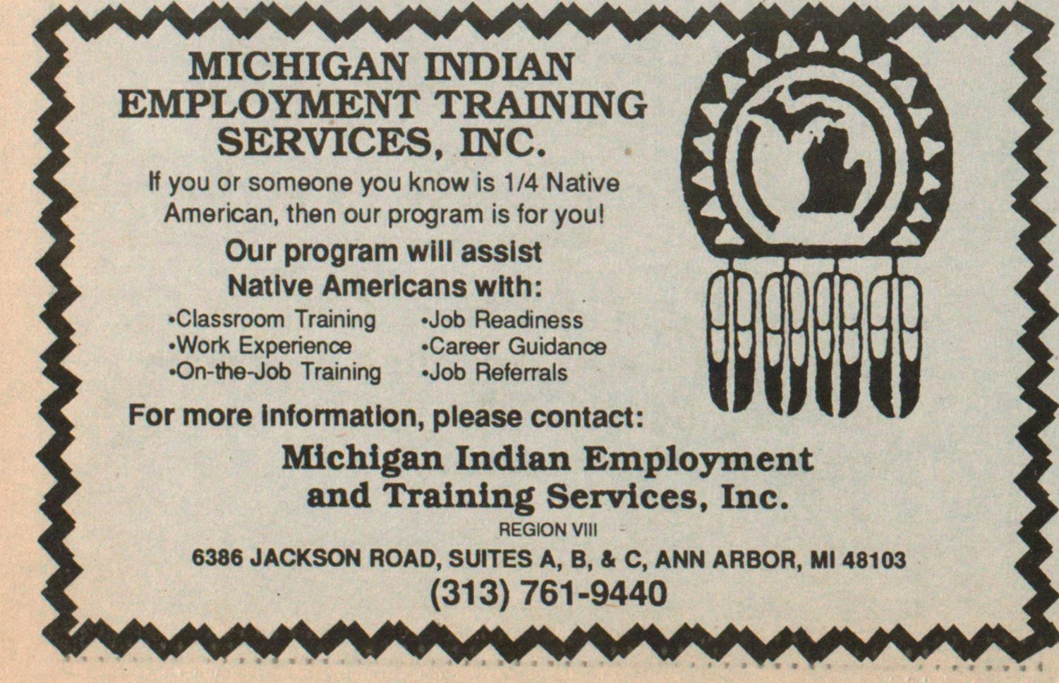 Michigan Indian Employment Training Services, Inc. image