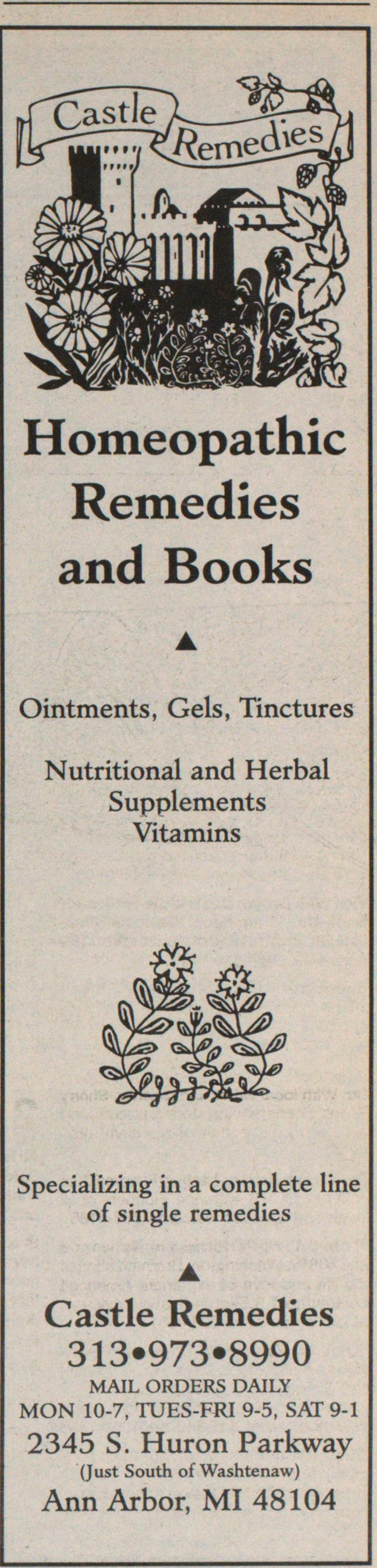 Homeopathic Remedies And Books image