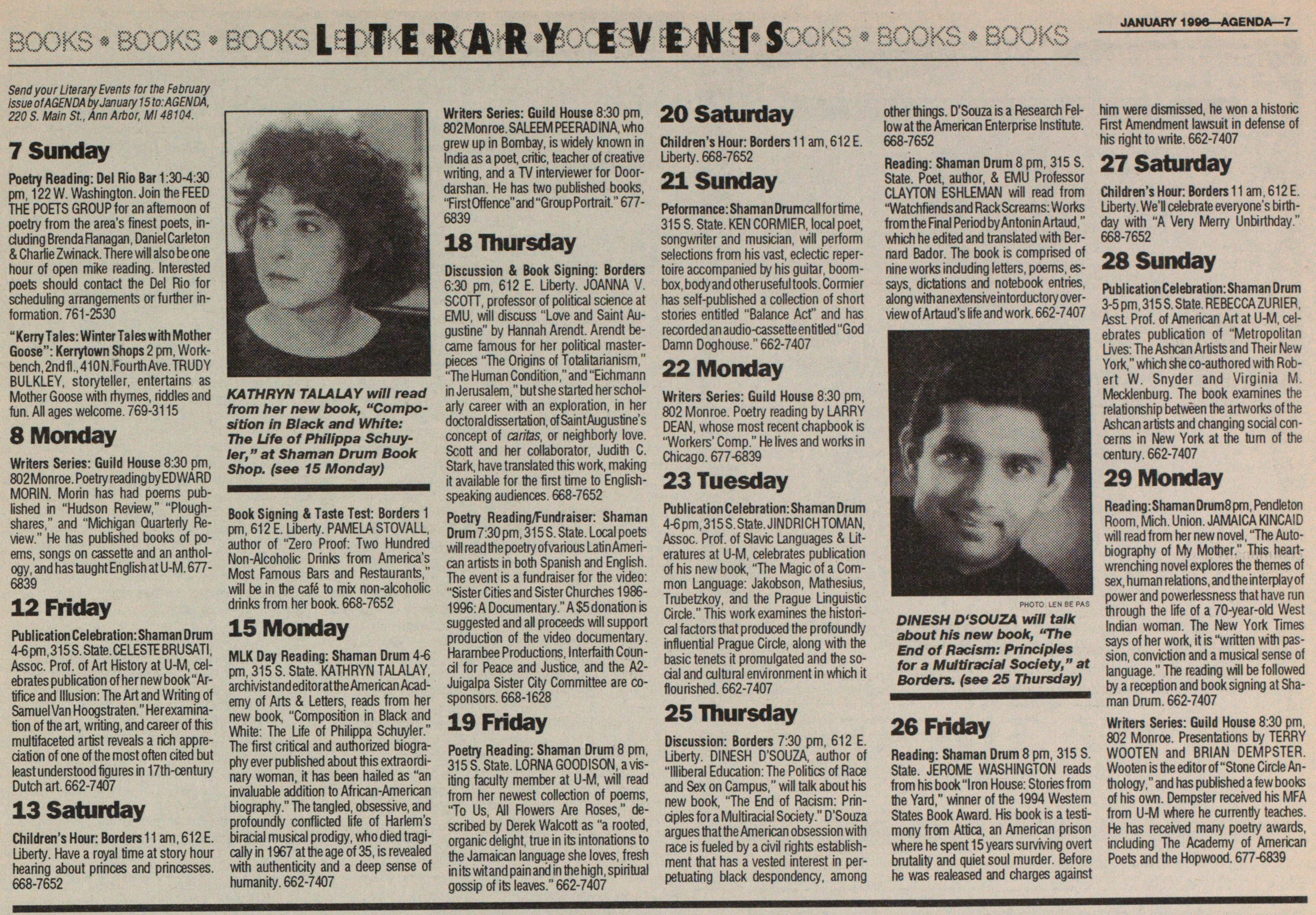 Literary Events image