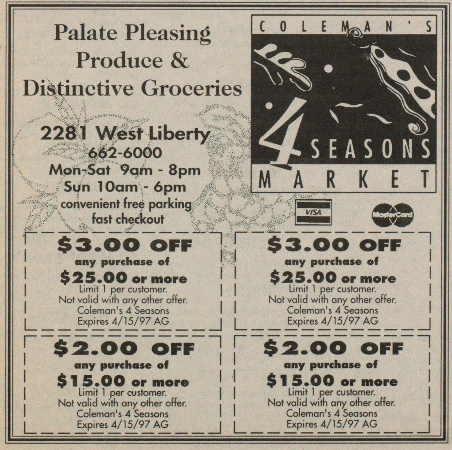 Palate Pleasing Produce & Distinctive Groceries image