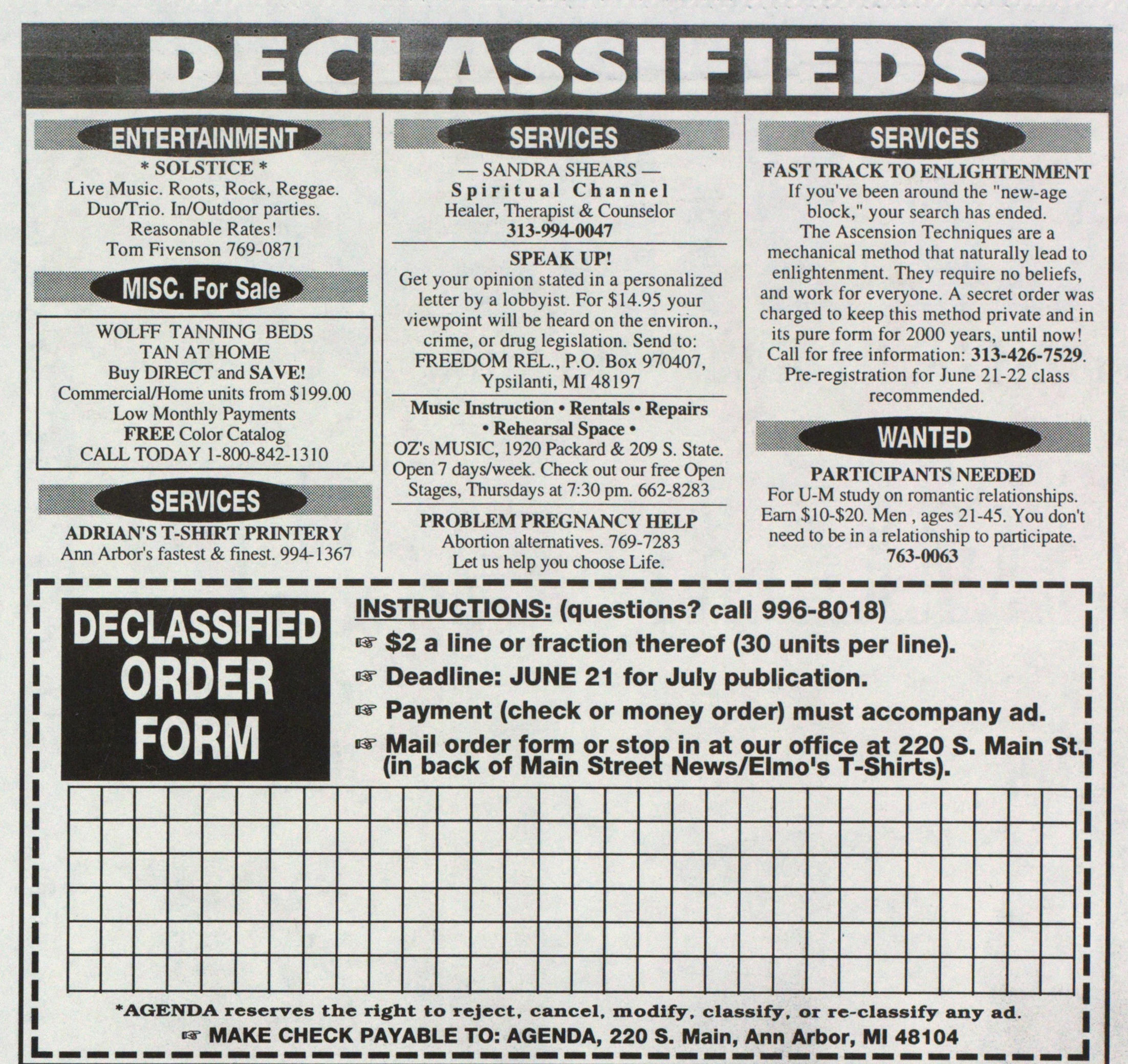 Classified_ad | Ann Arbor District Library