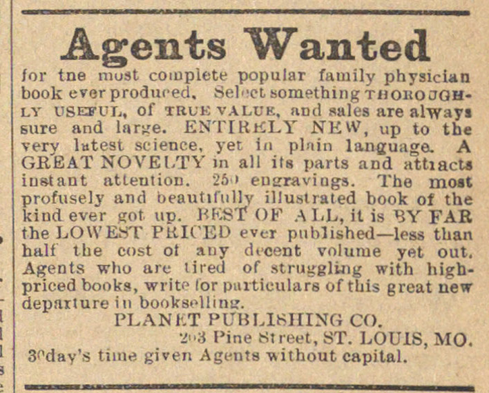 Agents Wanted image