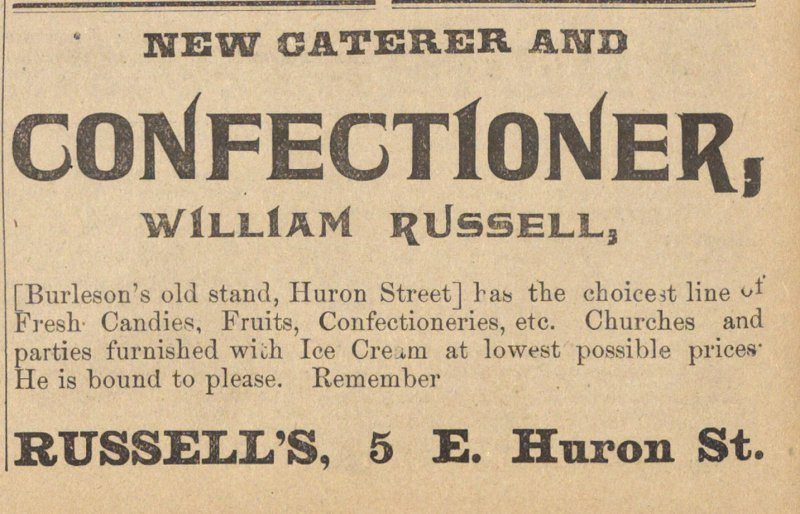 Confectioner, William Russell image