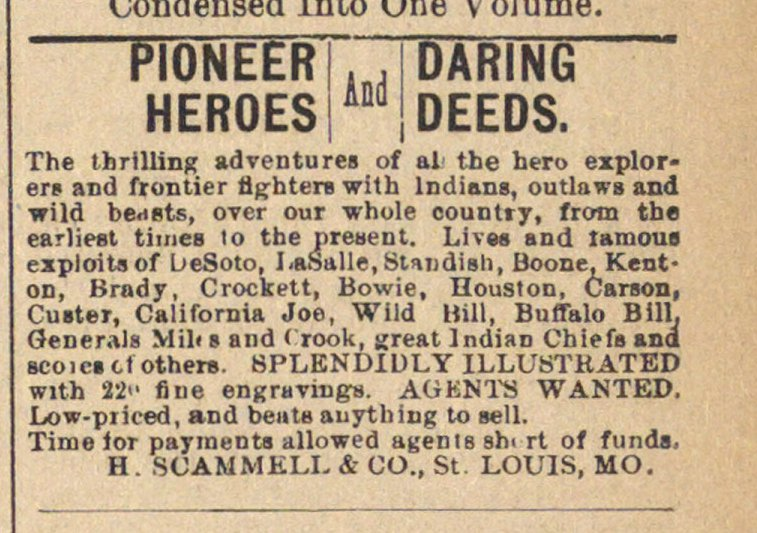 Pioneer Heroes And Daring Deeds image