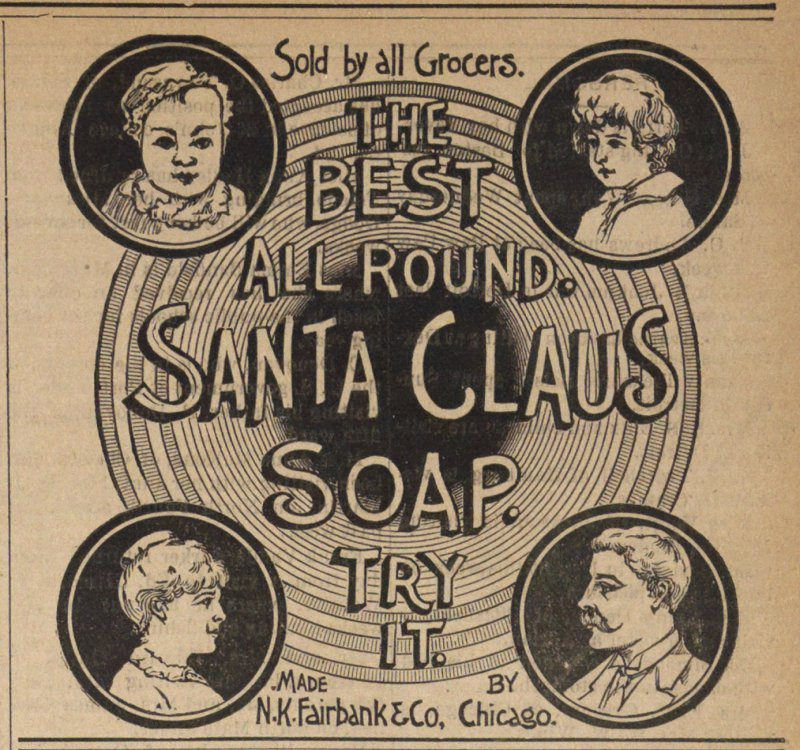 Santa Claus Soap image