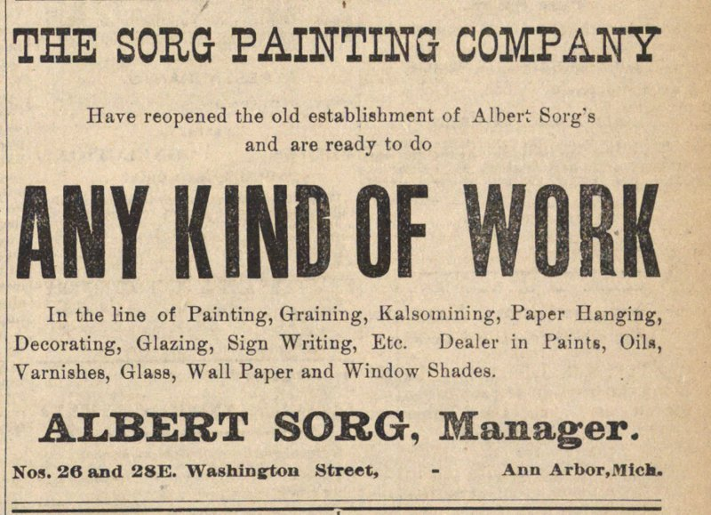 The Sorg Painting Company image
