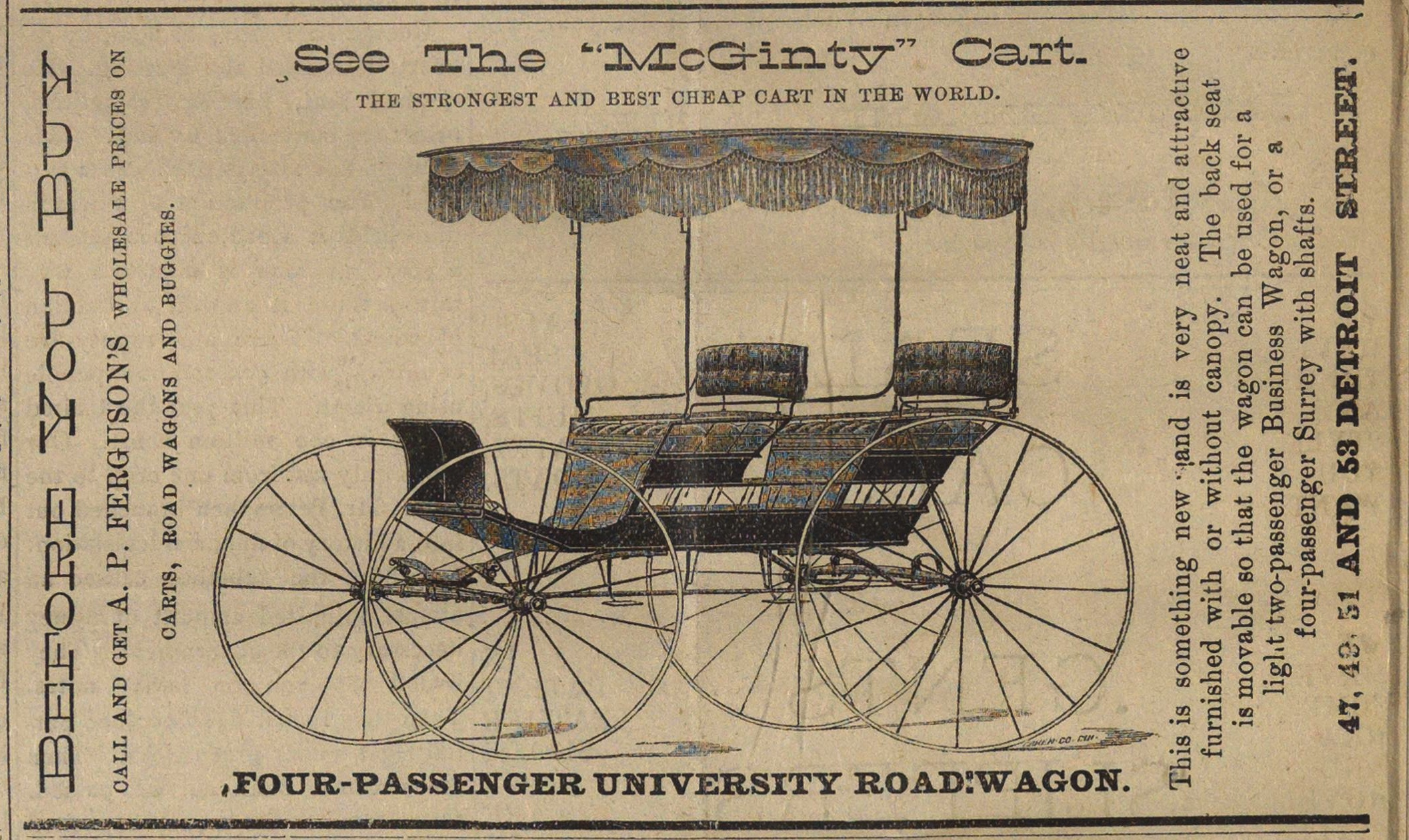 "See The ""mcginty"" Cart image"