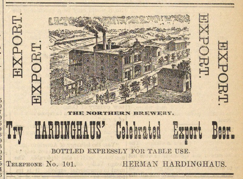 Try Hardinghaus' Celebrated Export Beer image