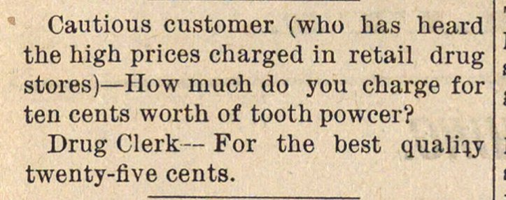Cautious customer (who has heard the hig... image