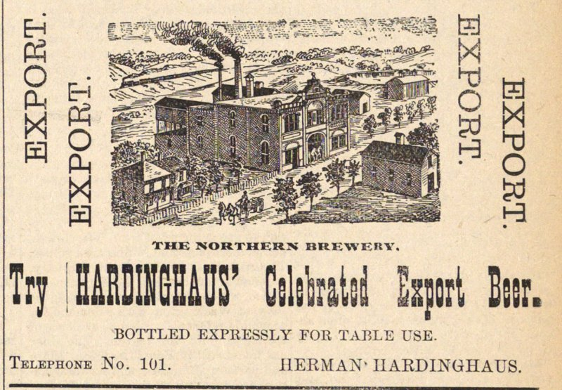 Hardinghaus' Celebrated Export Beer image