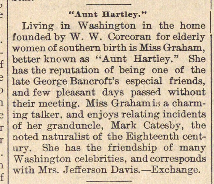 """aunt Hartley."" image"
