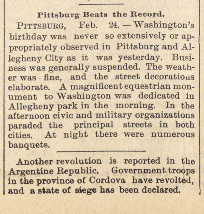 Pittsburg Beats The Record image