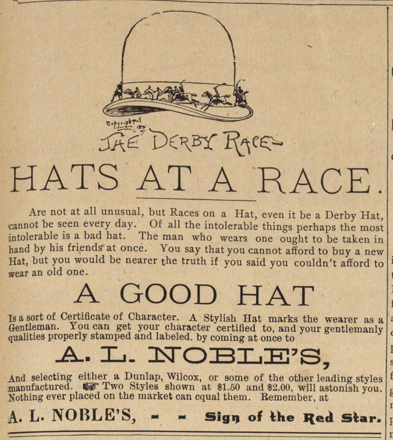 Hats At A Race image