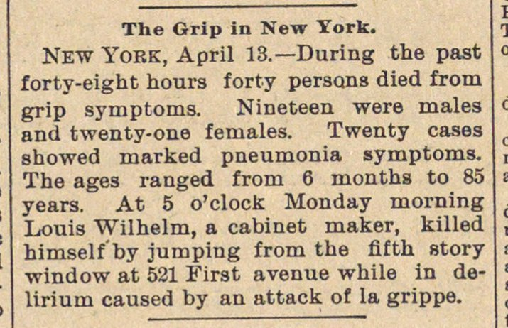 The Grip In New York image